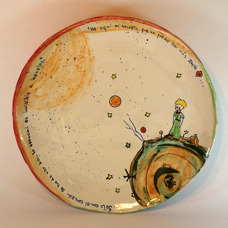 Plato de cer mica for Platos de ceramica