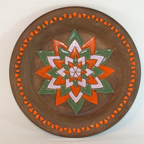 Plato de cerámica